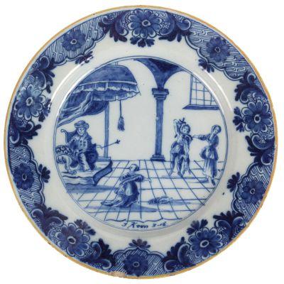 Antiek Delfts Blauw Merktekens.Bernaerts Veilingen Overzicht